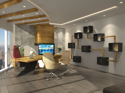 CEO office design, luxury office interior design in dubai, Rosha Interiors commercial interior design corporate spaces italian furniture, ceiling design for offices