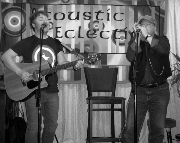 Garren joined by G.J. on Harmonica