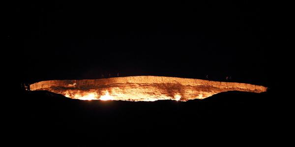 The Door to Hell; Turkmenistan