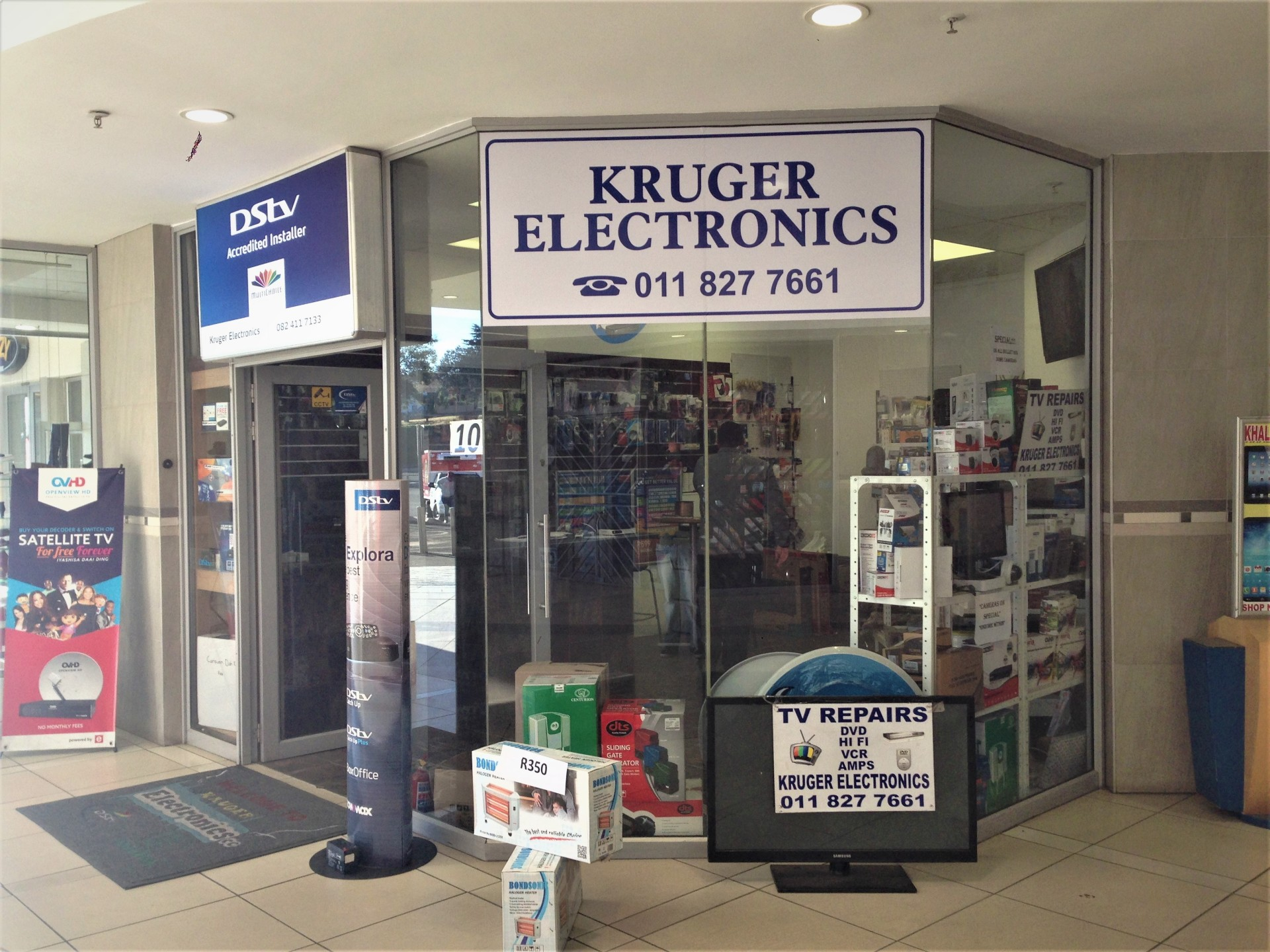 Your one stop shop for electronics