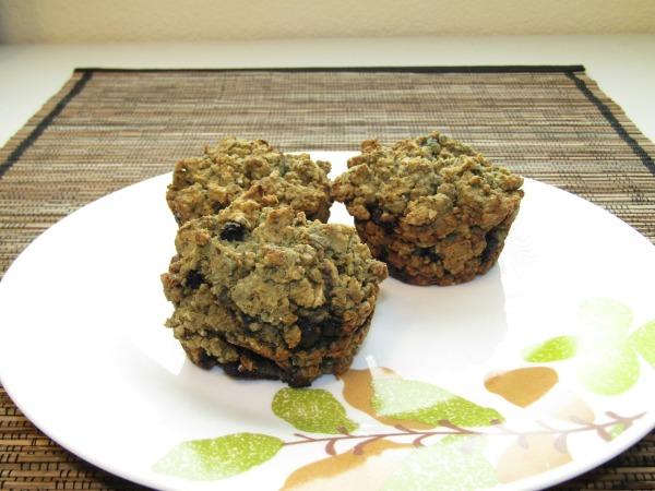 fresh homemade oatmeal muffins
