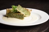breakfast spinach and artichoke quiche