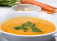 fall winter homemade butternut squash soup