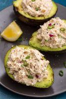chicken salad avacado