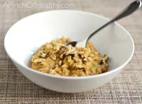 pumpkin pie fall oatmeal