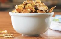 Zucchini Chips Thin Seasoned