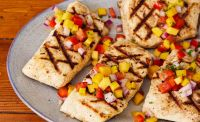 Halibut Grilled Fresh Salsa