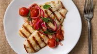 Tilapia grilled fresh