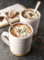 almond milk hot chocolate