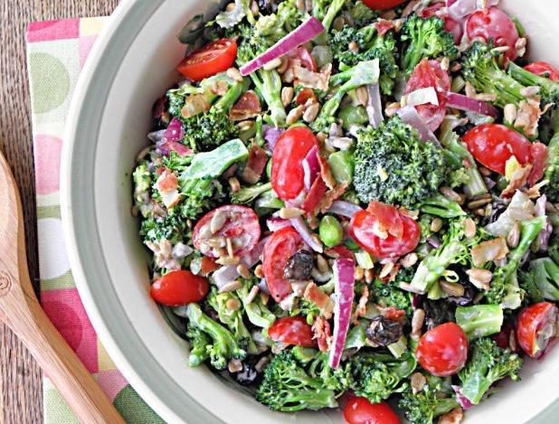 spring broccoli salad
