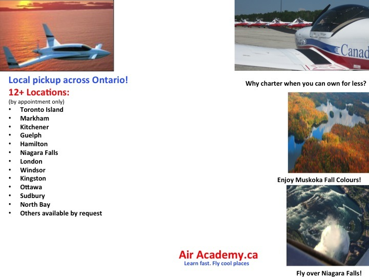 Air Academy: Discount Charters, Discount Fractional Ownership, No license necessary, Hire a pilot to fly your plane