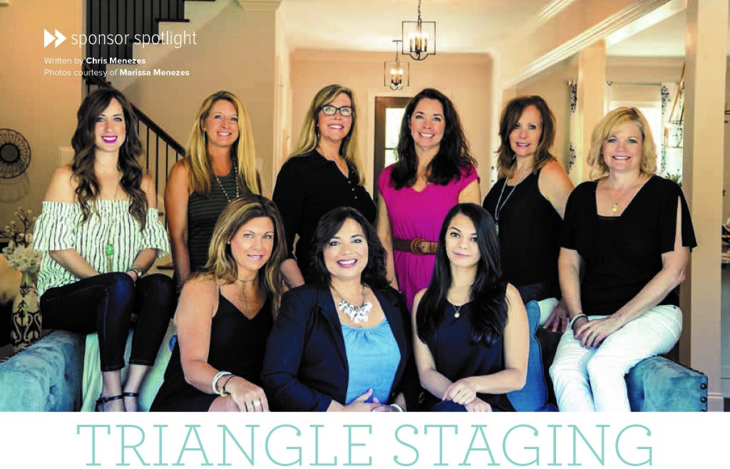 Triangle Staging & Design Featured in Triangle Real Producers