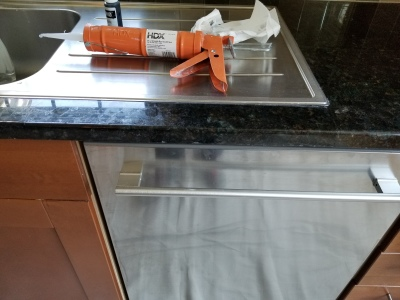 Granite and marble crack repair