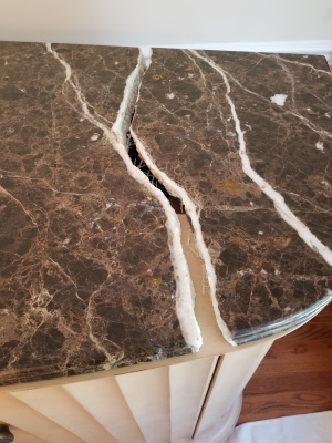 Emperador Dark marble table top