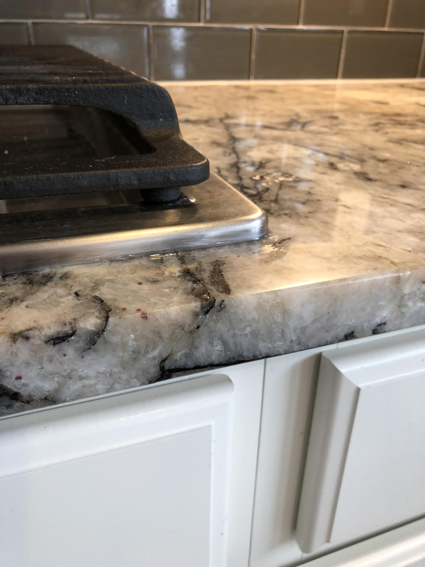 Granite Chip After