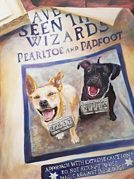 """""""Pearltoe and Padfoot"""""""