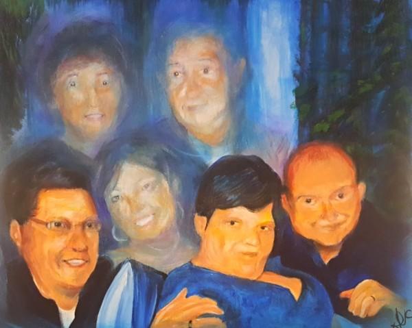"""Return of the Jedi"" - Laura's family portrait"