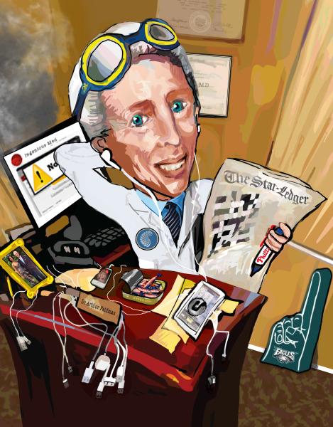 Dr. Feldman's Caricature