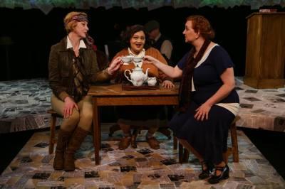 Cristin Hubbard Miller, Rebecca M. Davis and Heather Hawkins Weinland (photo by John Ulman).