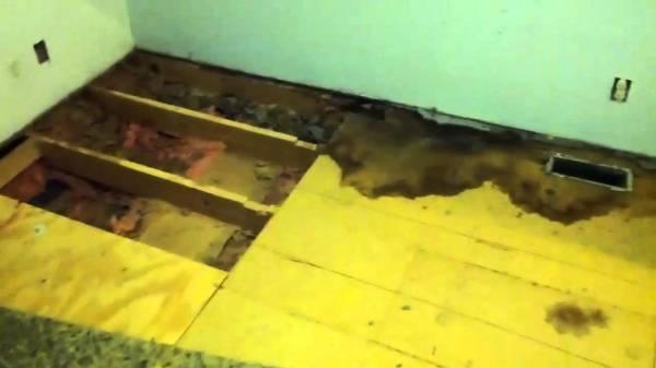 plywood over subfloor a bad idea!