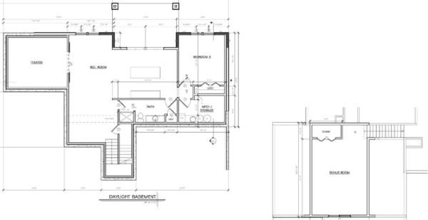 daylight basement and bonus room