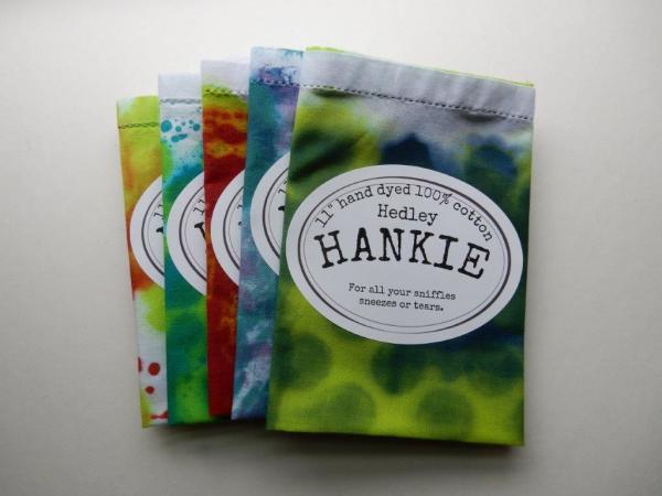 "Item #1 11"" Hankies"