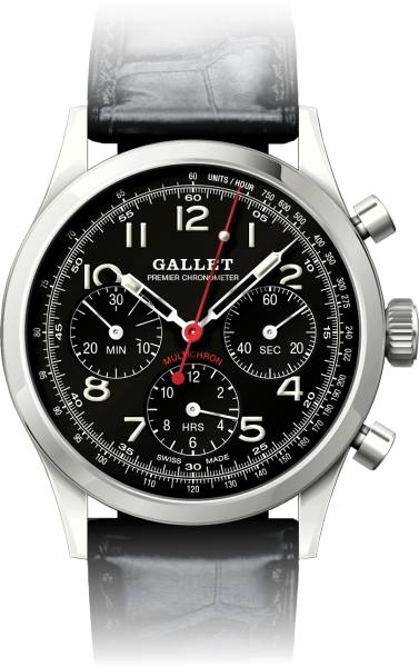 Gallet Heritage Edition Chronograph