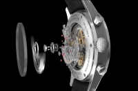 Groundbreaking new Gallet Swiss calibre 550 movement technology developed in collaboration with Vaucher Manufacture Fleurier