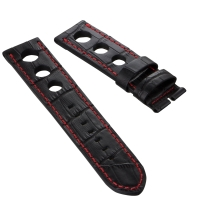 The Gallet Rally Strap – Genuine Alligator