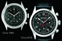 """The new """"Heritage Edition"""" chronograph – a groundbreaking evolution of Gallet's famous MultiChron model 12."""
