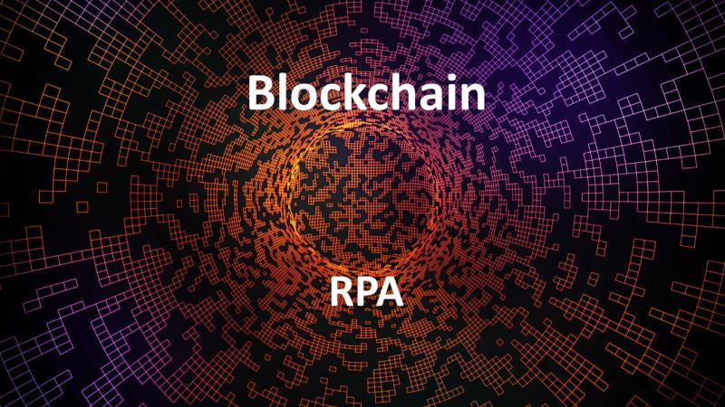 Power Blockchain using RPA