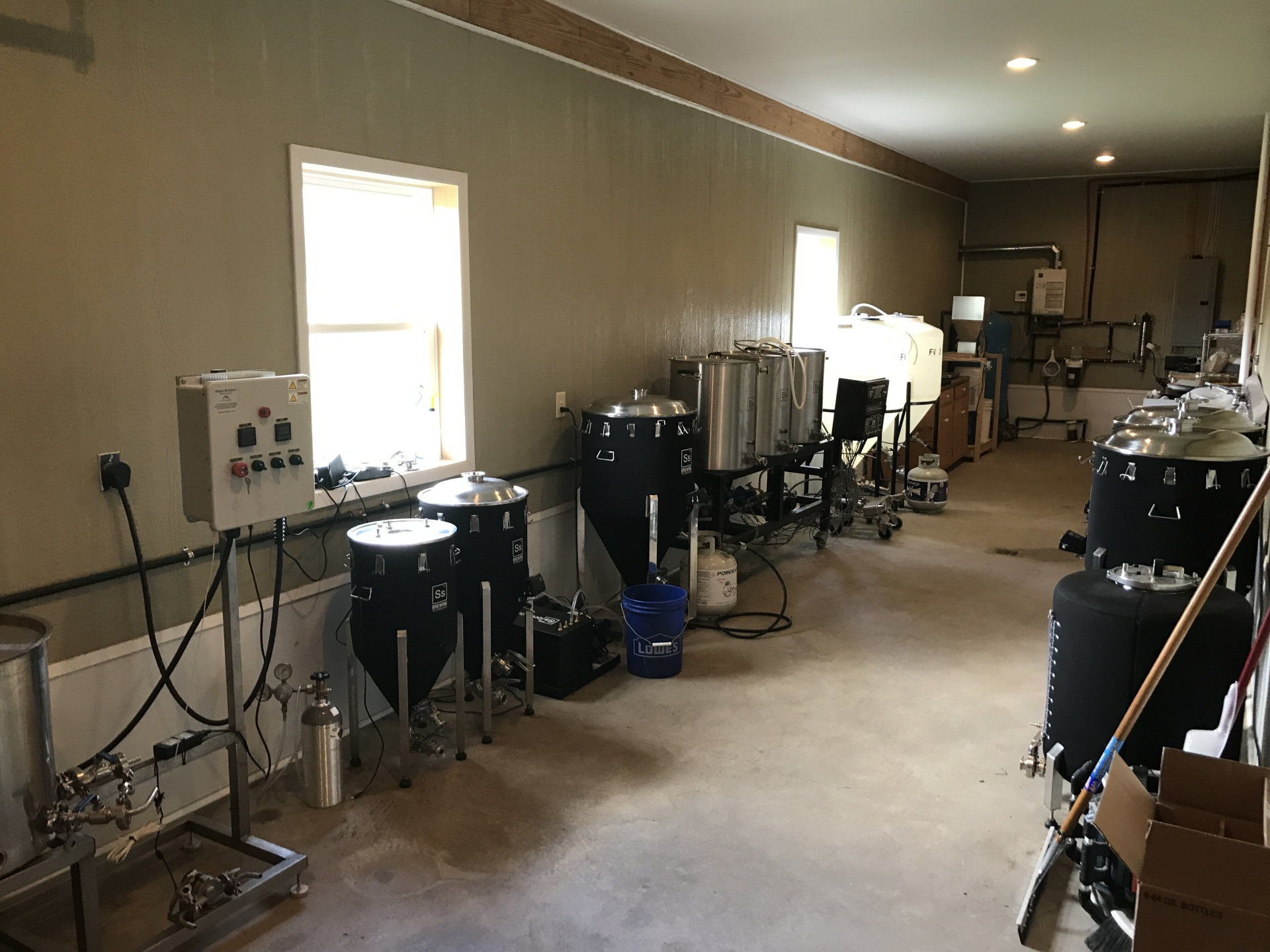 Our Current Brewing Equipment