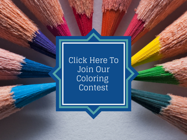 Monthly Coloring contest to win a gift card to Gepetto's Workshop