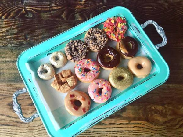 Who wants to join me for a donut on Saturday?