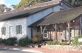 BEFORE CANNEREY ROW:  Old Monterey