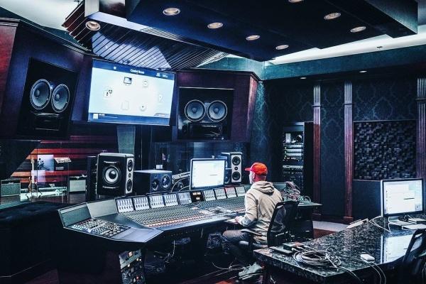 Studio from @royalhouserecording