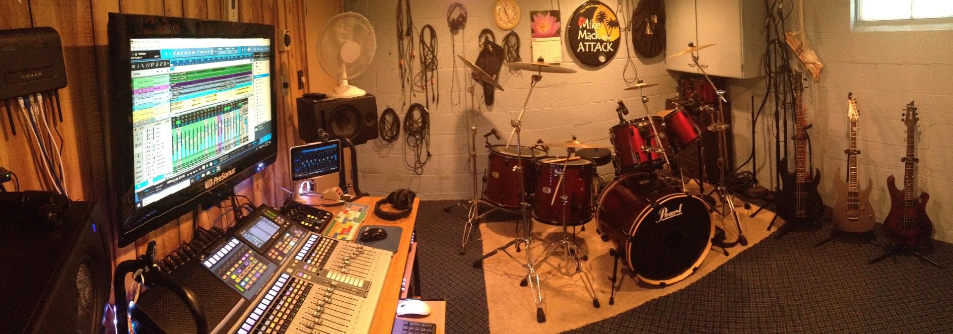 Dusty Attic Studio Control Room
