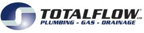 Total Flow plumbing, gas, drainage