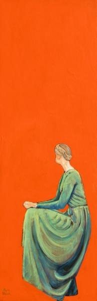 Orange 122 x 41 cm