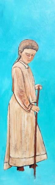 Turquoise 122 x 41 cm