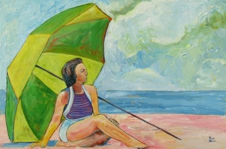 Beach Umbrella 61 x 91 cm