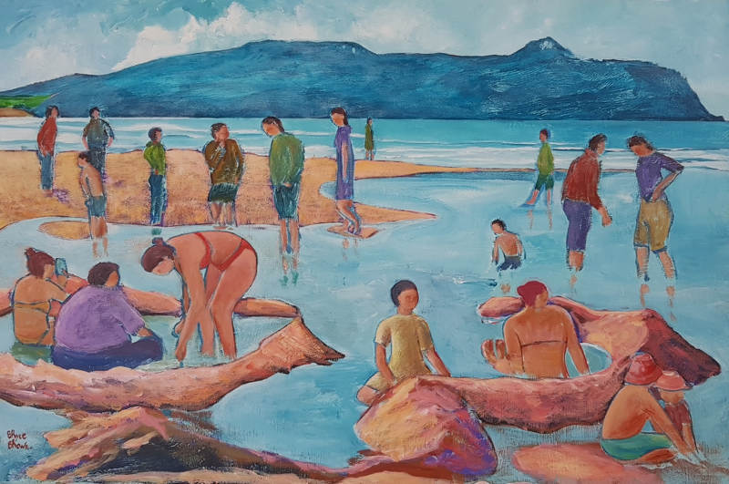 Hot Water Beach 76 x 101 cm