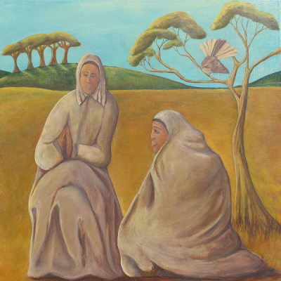 Heni Te Kiri Karamu triptych