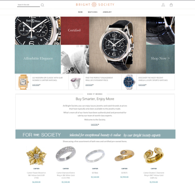 Jewelry Catalog Home Page