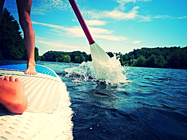 Paddle Boarding : Ultimate Toning of Core, Legs and Buttocks