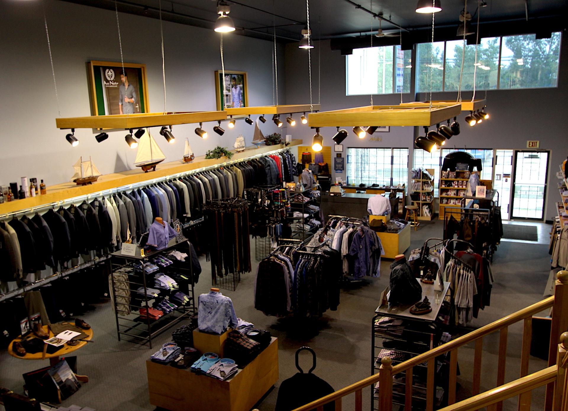 Men's Clothing Store, Edmonton, AB