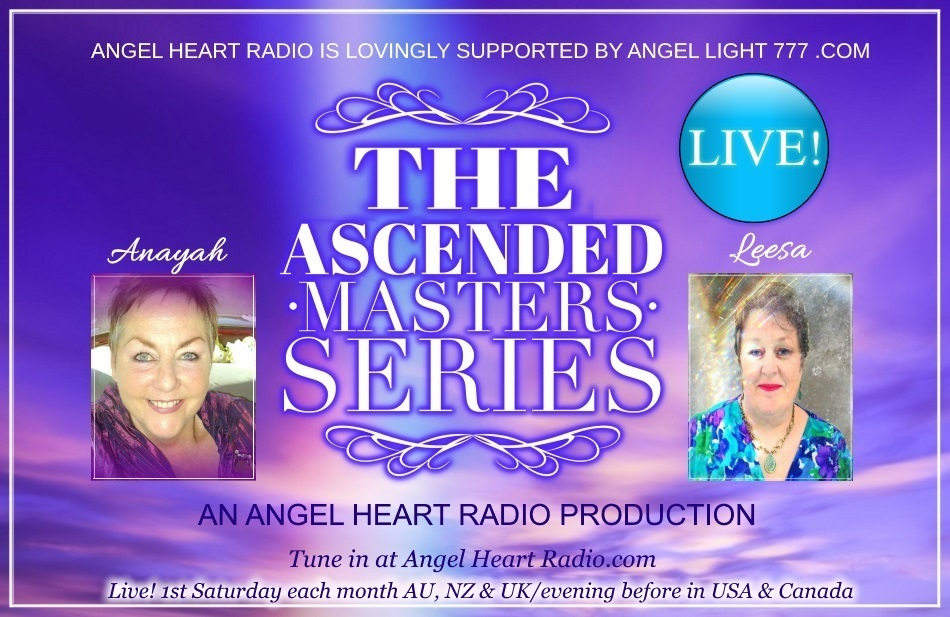 The Ascended Masters Series is another inspiring Angel Heart Radio production!