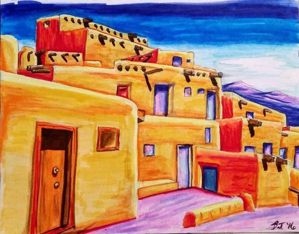 Taos Pueblo *SOLD*
