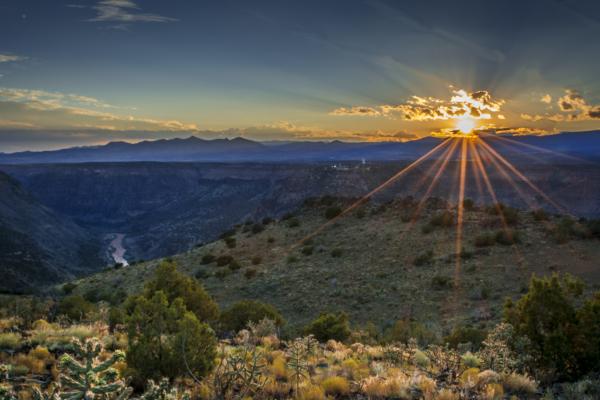 Caja Del Rio Sunset