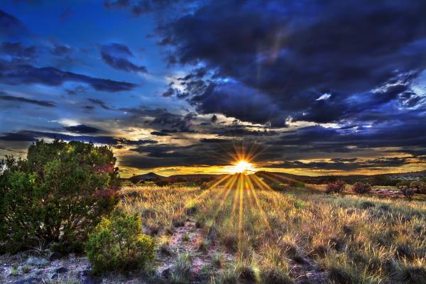 La Cieneguilla Sunset
